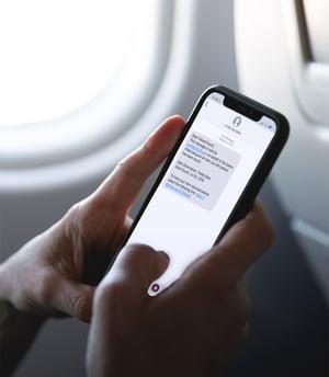 iPhoneX SMS image